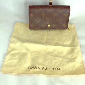 Louis Vuitton fold  wallet